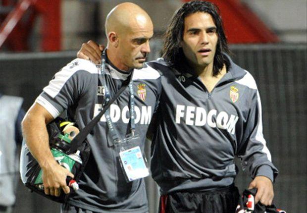 Falcao injury mars Monaco win at Marseille
