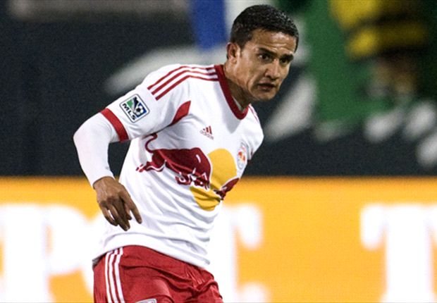 New York Red Bulls 2-2 New England Revolution: Fagundez, Cahill trade stoppage-time goals
