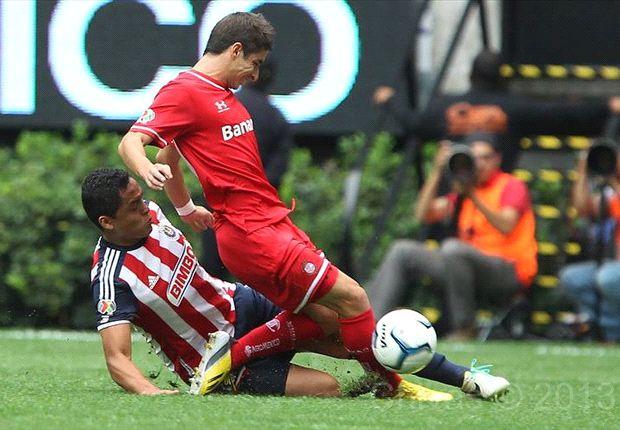 Liga Bancomer MX: Chivas 0-0 Toluca   Abucheos generalizados al equipo y a Marco Fabián