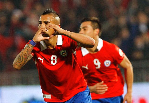 Vidal 'nervous' ahead of Colombia clash