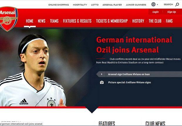 Unsere Legionäre: Mesut Özil kann beim FC Arsenal sein Profil schärfen