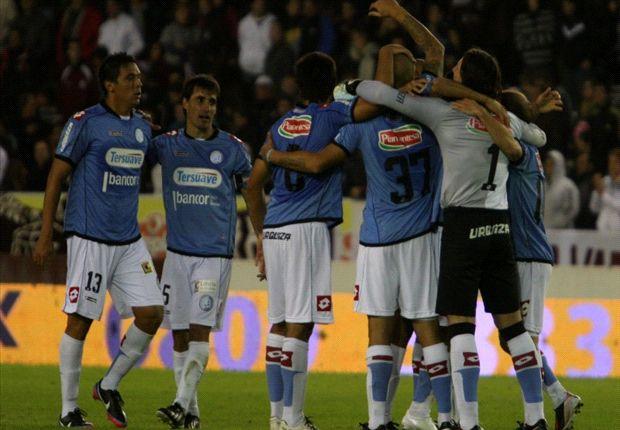 Belgrano, de a poco, se va acostumbrando a los festejos.