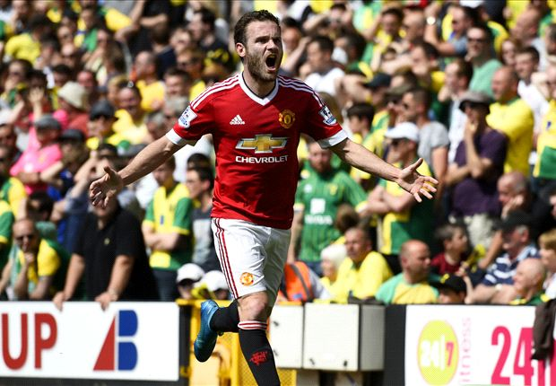 Norwich 0-1 Manchester United: Mata keeps Red Devils' top-four hopes alive