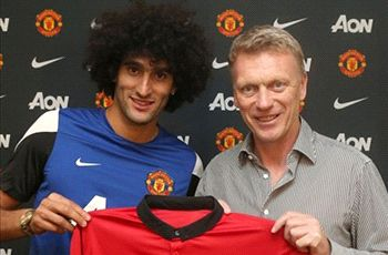 Carrick welcomes Fellaini competition at Manchester United