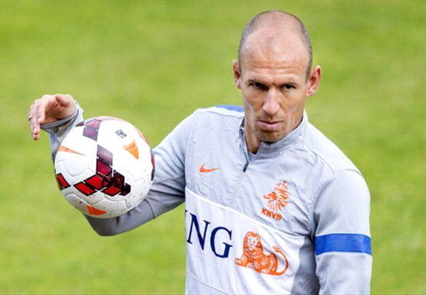 """Robben: """"Ik ben fan van Sneijder"""""""