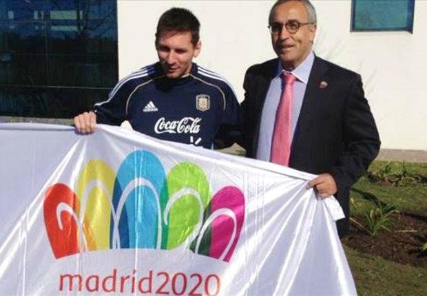 Leo mostró su deseo de que Madrid obtenga la sede para los Juegos de 2020