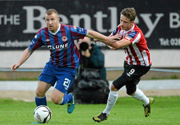 Derry City 0-1 St Patrick's Athletic - Brennan goal returns Saints to summit