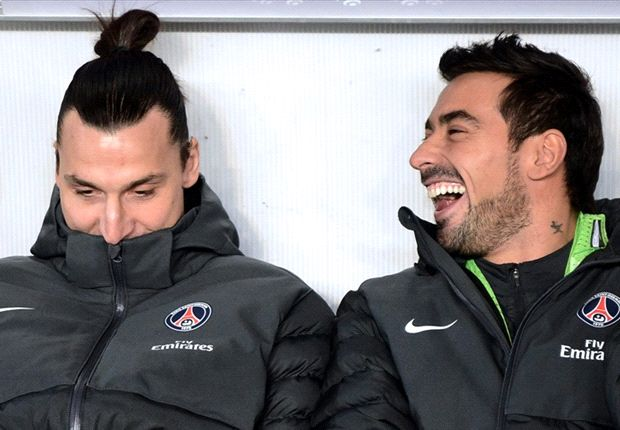 Ibrahimovic not an ogre, insists Lavezzi