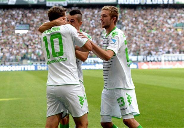 Kruse jubelt mit der Doppelsechs gegen Werder Bremen