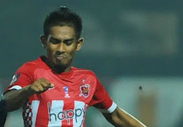 Zamri wasn't featured in the game against JDT.