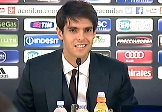 Kaká quiere volver a ganar títulos con Milan.