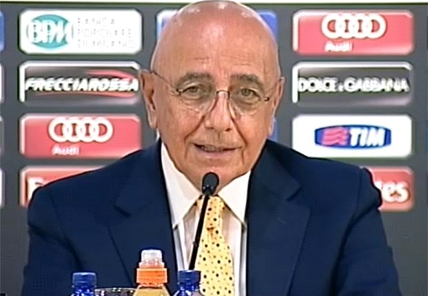 Galliani: AC Milan will buy in January