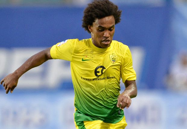 Willian: Chelsea move always on the cards