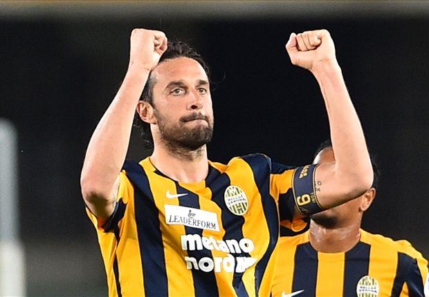 Verona 2-1 Juventus: Toni marks farewell with Panenka as Juve streak comes to an end
