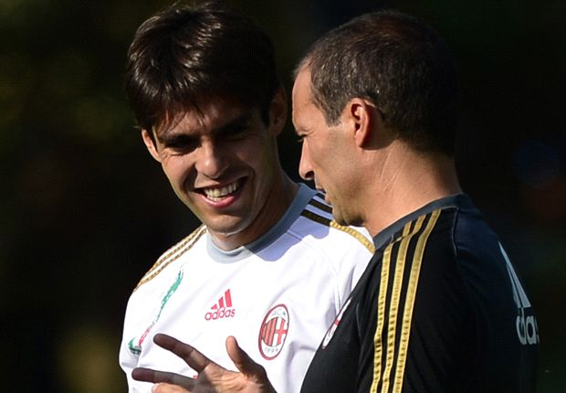 Kaka attempting to get back in rhythm