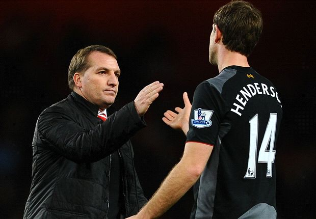 Henderson hails Rodgers influence at Liverpool