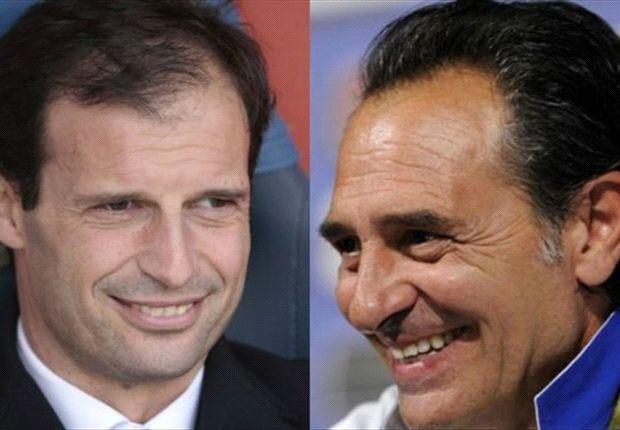 Massimiliano Allegri dinilai Fabio Capello belum siap menjadi suksesor Cesare Prandelli