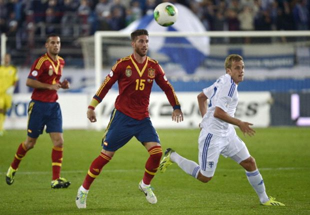 Finland 0-2 Spain: Alba & Negredo egde la Roja closer to Brazil
