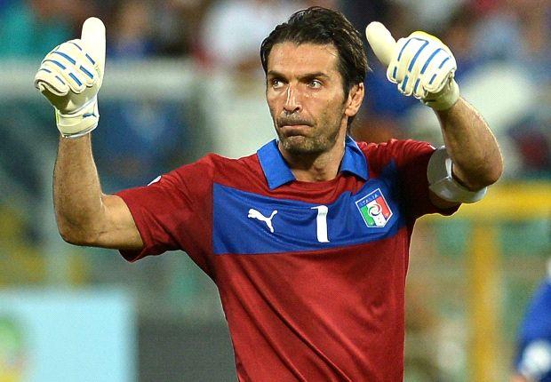 Buffon llegó a los 137 partidos en la Selección de Italia y es el hombre con más presencias.