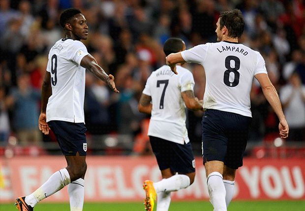 England 4-0 Moldova: Welbeck doubles up in comfortable Three Lions victory