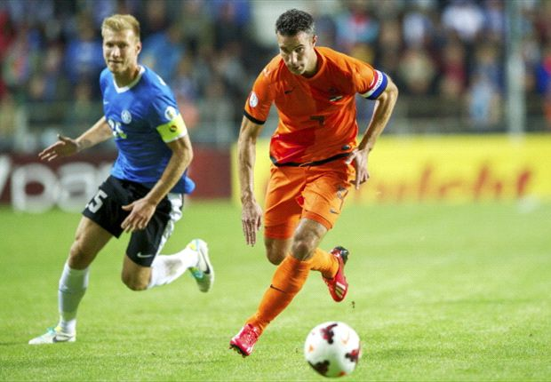 'Who would have expected this?' - Van Persie stunned at Estonia draw