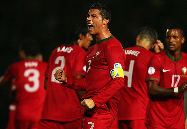 Ronaldo hat trick surpasses Eusebio tally