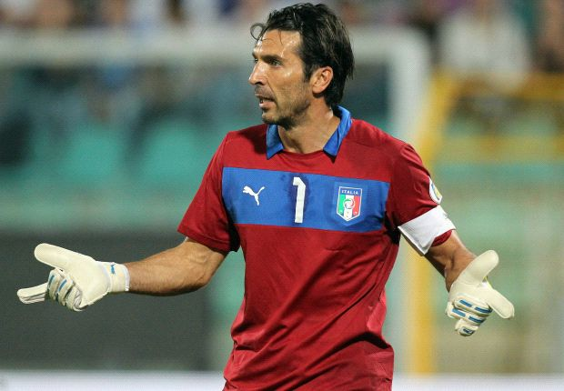 Buffon: England clash key to Italy's World Cup hopes