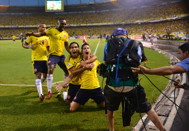 콜롬비아, 16년 만에 월드컵 본선행 눈앞