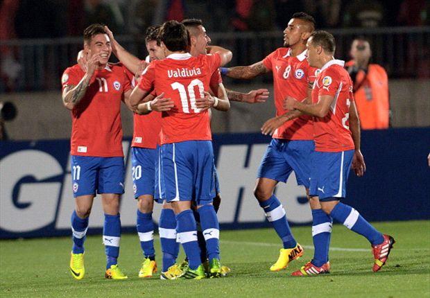 Cili kalahkan Venezuela tiga gol tanpa balas.