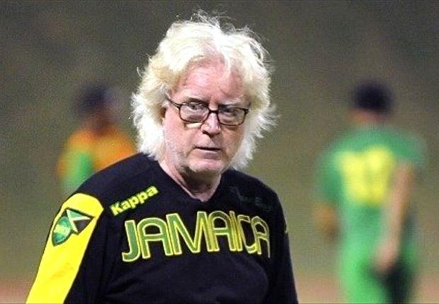 Jamaika-Trainer Winfried Schäfer muss neun Monate auf Jermaine Hue verzichten