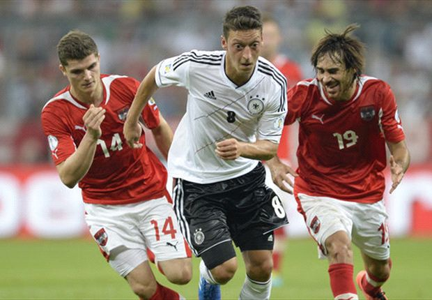 Ozil: Germany showed who's boss