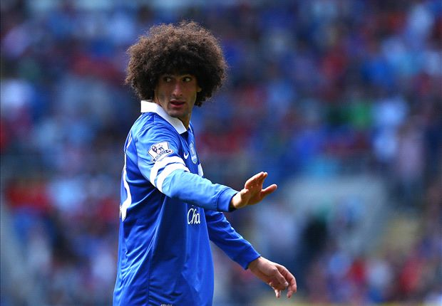 Fellaini sets Premier League title target at Manchester United