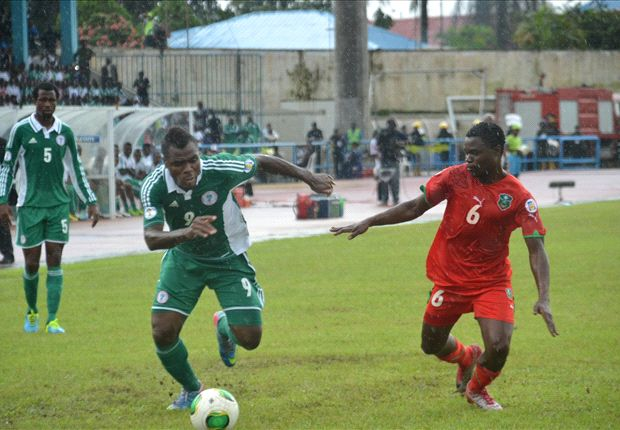 Nigeria 2-0 Malawi: Emenike and Moses give Eagles playoff ticket