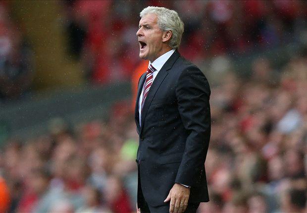 Hughes happy despite Stoke transfer difficulties