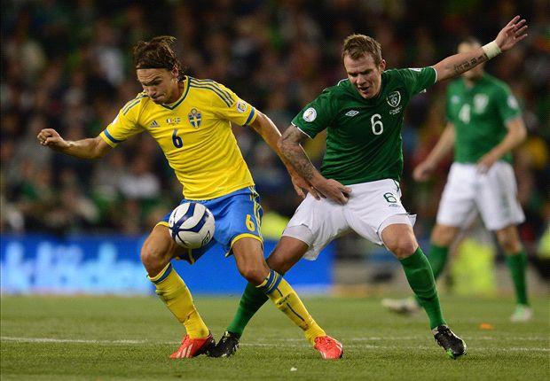 Whelan injury blow for Republic of Ireland