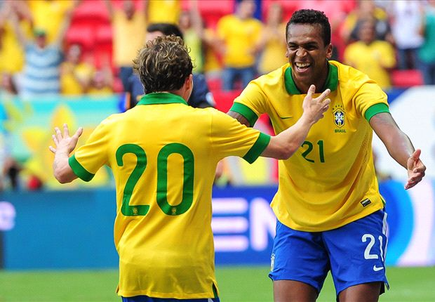 Brazil 6-0 Australia: Selecao hit Aussies for six