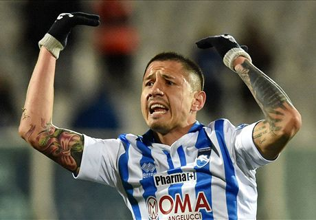 'Leicester winning race for Lapadula'