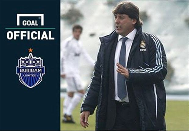 The Spaniard was the assistant at Real Madrid and led their reserve side