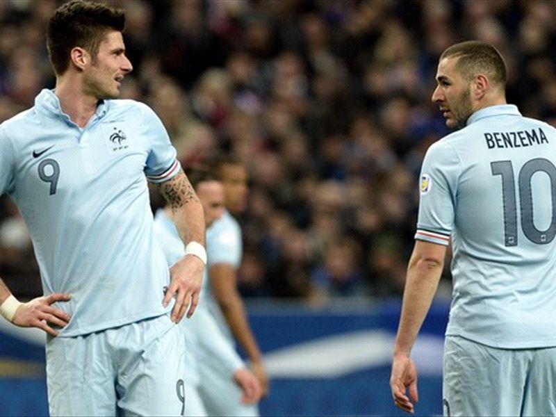 """Bleus, Giroud : """"Benzema ? Sa présence n'était pas un poids pour moi"""""""