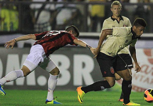 Vasco 0 x 0 Atlético-PR: Equipes buscaram a vitória em São Januário, mas ficaram apenas no empate sem gols