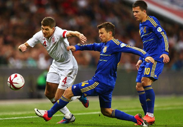 Gerrard: England must keep their heads against Ukraine