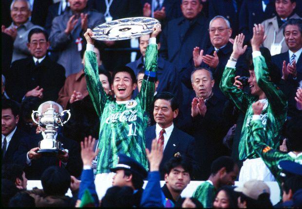 Kazuyoshi Miura was pivotal in Verdy's success.