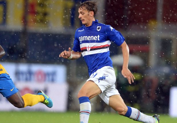 Gabbiadini fokus ke Sampdoria.