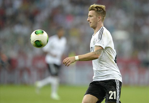 Reus ruled out of Faroes clash