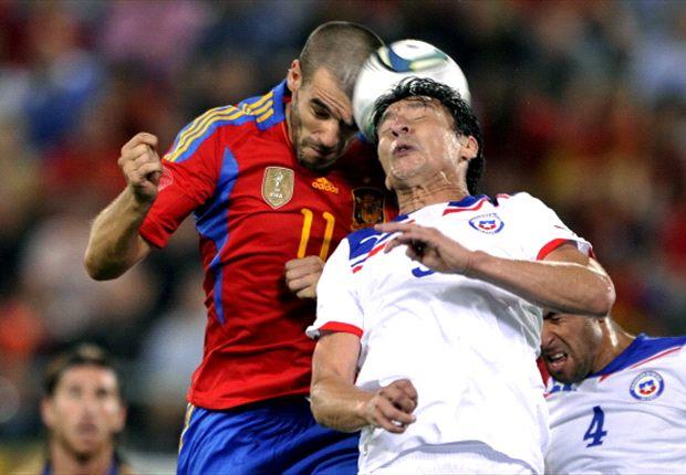 Chile sumará minutos ante España para luego pensar en Colombia.