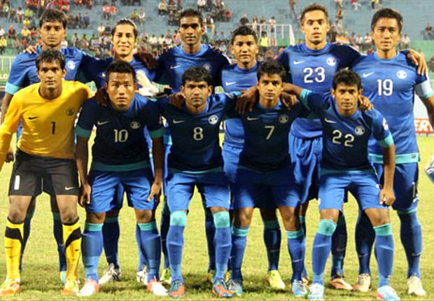Team India put in a top performance against Maldives (Photo: AIFF)