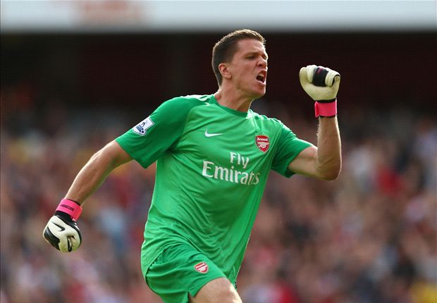 Arsenal goalkeeper Szczesny admits being dropped helped him improve