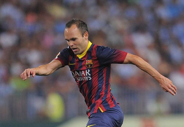 Iniesta looks to end his playing career with Barcelona.