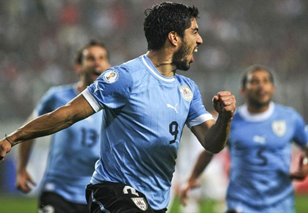 Suarez is victim of 'jealous' rivals, claims Uruguay chief