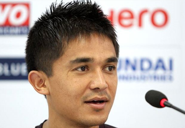 Sunil Chhetri believes his team are in a right frame of mind